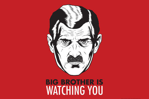 Big Brother Watching you eye