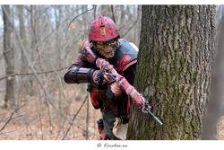Cosplay caos sargento pacto sangriento