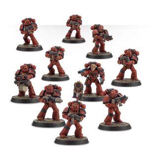 Escuadra Táctica Veterana Mk. IV Maximus Legión Ángeles Sangrientos