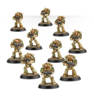 Escuadra Táctica Veterana Mk. IV Maximus Legión Guardia de la Muerte