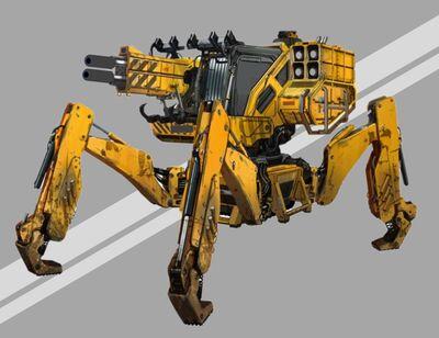 Maschinenkörper Civil