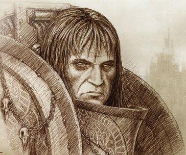 Retrato Corvus Corax Horus Heresy III Extermination