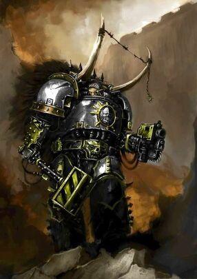 Caos guerreros de hierro herrero de guerra