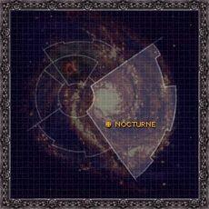 Mapa Nocturne