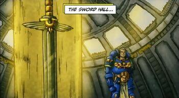 Salón de la Espada Fortaleza de Hera Macragge
