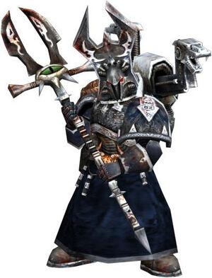 Sindri Myr Hechicero Legión Alfa Cetro de la Confusión