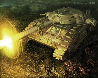 Tanque pesado guardia muerte