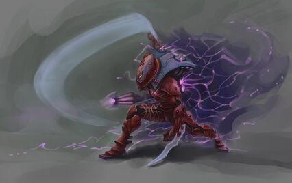 Araña 1 Eldar Wikihammer 40K