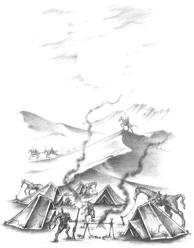 Campamento de Mutantes Gorkamorka