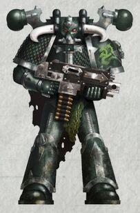 Caos legion alfa marine vonius