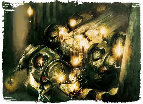 Marines caballeros grises entierro titan
