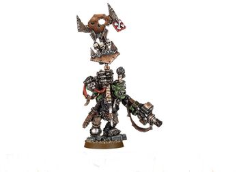 Noble Orko con eztandarte del ¡Waaagh