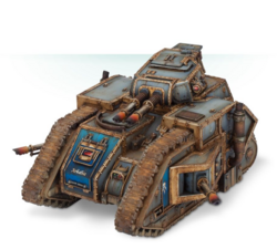Tanque Carnodon Auxiliares Solares Forge World miniatura