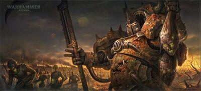 Caos typhus soldados zombies