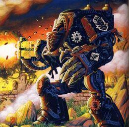 Dreadnought Contemptor de los Manos de Hierro