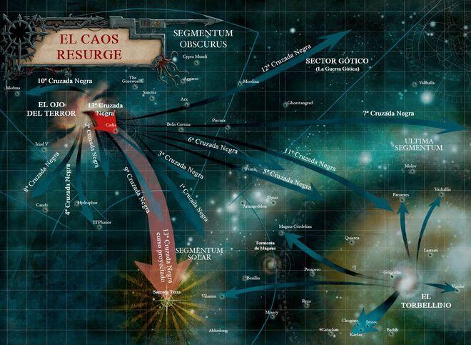 Caos mapa cruzadas negras wikihammer