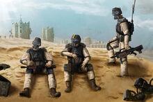 Guardia Imperial Hombres del 23º de Elysian