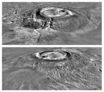 Marte mons Arsia