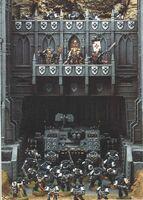 Templarios Negros 4ª Edición diorama