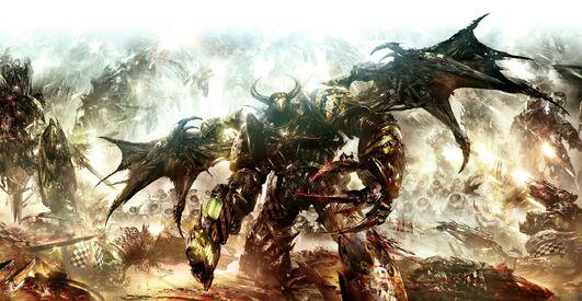 Caos guerreros hierro marine de asalto