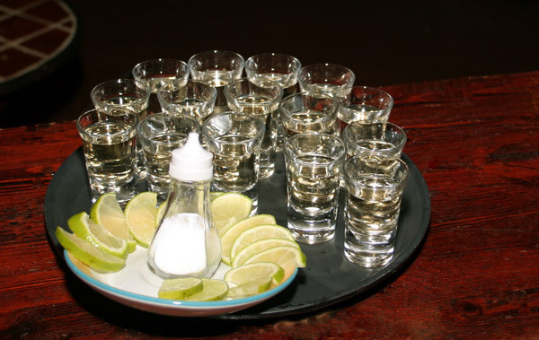 Chupitos tequila limon wikihammer