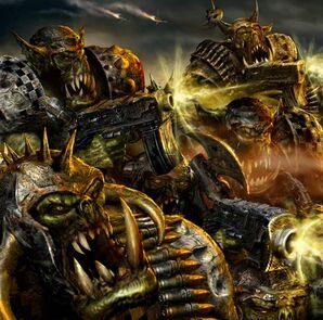 Orkos chicoz combate