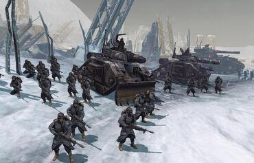 Videojuego korps krieg linea tropas