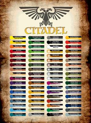 Citadel Conversion Chart