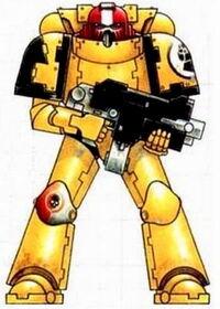 Puños Imperiales Servoarmadura Mk. VIII Errans