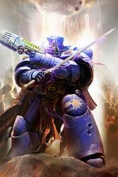 Hazon Dakir Bibliotecario Marines Espaciales Salamandras Warhammer 40k Wikihammer