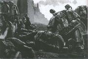 Preherejia marines guerreros hierro apotecario