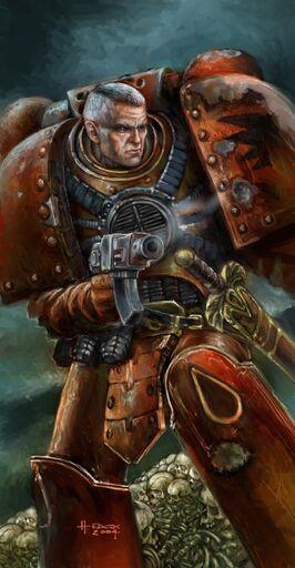 Raldoron capitan angeles sangrientos wikihammer