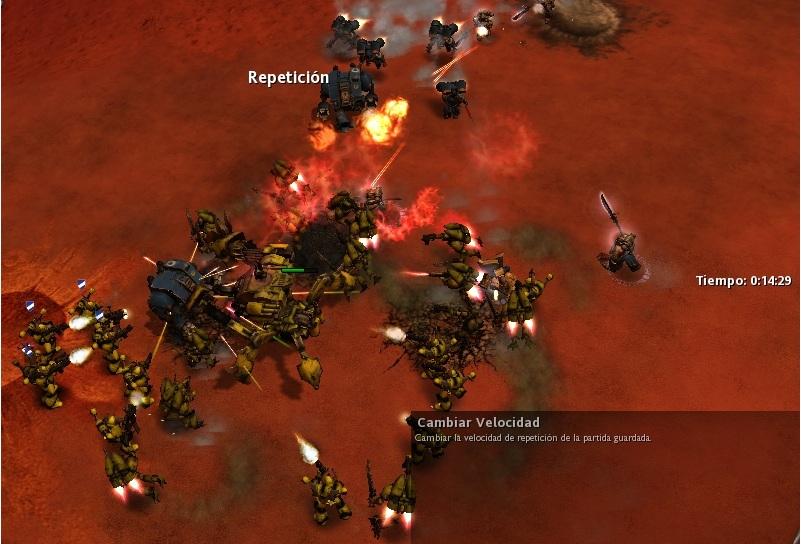32 La batalla de traidores y ultramarines se recrudece...