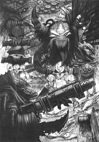 Mutantes Gorkamorka por Wayne England