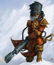 Soldado Vostroyano con Lanzallamas