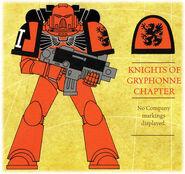 Caballeros de Gryphonne Insignium Astartes ilustración