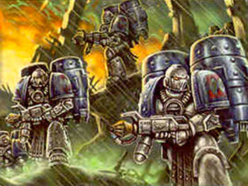 Escuadra de Asalto Sargh Devoradores de Mundos Traidores Istvaan III