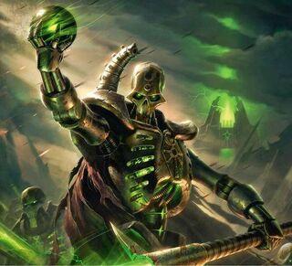 Necrones señor supremo orbe de poder