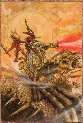 Cañón Cráneos Khorne Demonios Codex 6ª Edición Caos Warhammer 40k Wikihammer