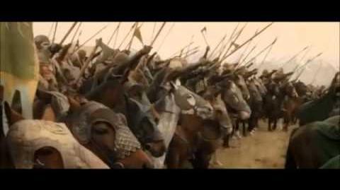El señor de los anillos- El retorno del rey El discurso del rey