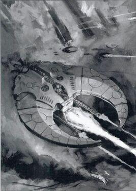 Guadaña Muerte caza volador necrones Warhammer 40k Wikihammer