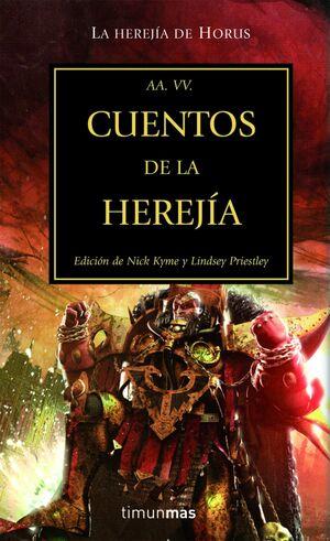 Portada Cuentos de la Herejía Herejía de Horus