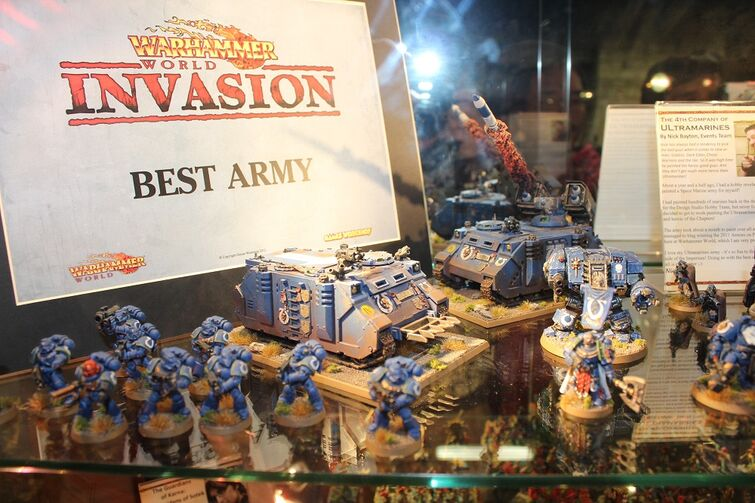 Warhammer World Nottingham Wikihammer Ultramarines 3