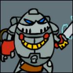 Avatar Caricatura Caballero Gris