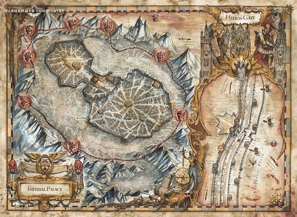 Mapa palacio imperial