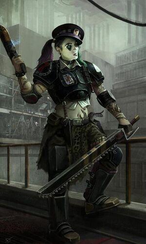 Necromunda guerrera bandas