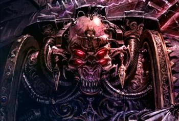 Ygethmor el Impostor Hechicero del Caos Legión Negra Elegidos de Abaddon