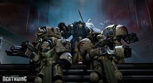 Ala de muerte angeles oscuros wikihammer