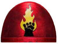 Emblema Señores del Fuego Wikihammer