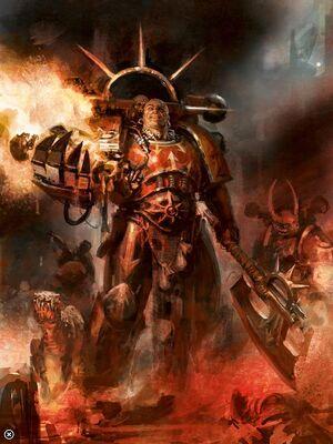 Huron Blackheart Corsarios Rojos Caos Warhammer 40k Wikihammer